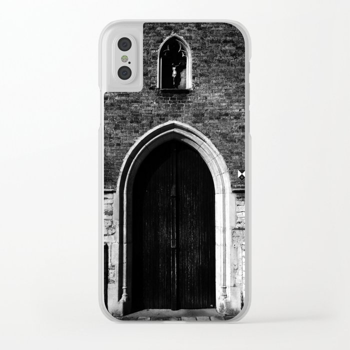 shot on iphone .. jeruzalem Clear iPhone Case