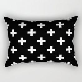 plus pattern Rectangular Pillow