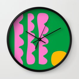 Spring Whimsy Wall Clock