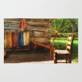 Yarnwork at the Mabry Mill Rug
