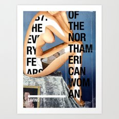 The North American Woman Art Print