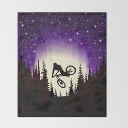 Moon Whip Throw Blanket