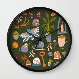 Mixed Bag Flash Sheet Wall Clock