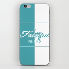 Faithful iPhone & iPod Skin