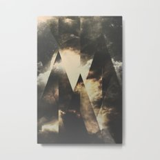 The mountains are awake Metal Print