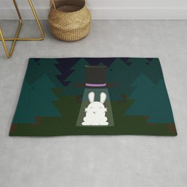 The abduction of Mr. Rabbitson Rug