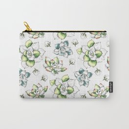flower pattern (11) Carry-All Pouch