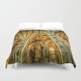 St Stephens Cathedral Vienna Art Duvet Cover