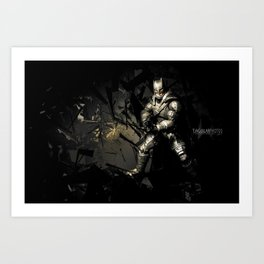 """""""You're not brave. Men are brave."""" Art Print"""