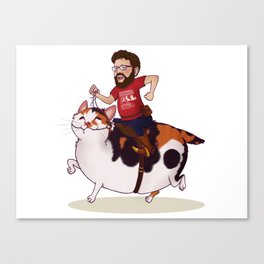 Onward, Dixie! Canvas Print