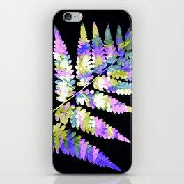 Fern in disguise - winter iPhone Skin