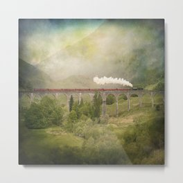 Glenfinnan Viaduct Metal Print