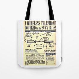 Space Phone Tote Bag