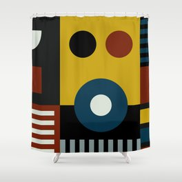 SPEECH AT THE BAUHAUS Shower Curtain