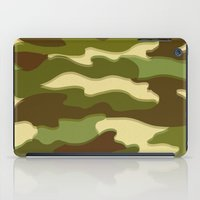 camo iPad Cases featuring CAMO by Bruce Stanfield