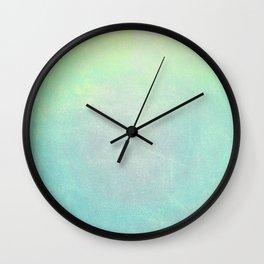 Mint Wall Clock