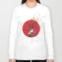 swallow Long Sleeve T-shirts featuring Swallow by Sekhmet
