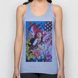 Angus Young Unisex Tank Top