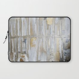 Metallic Abstract Laptop Sleeve