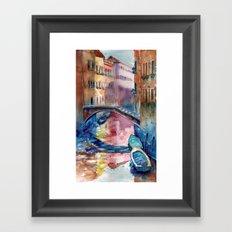 Venice 2 Framed Art Print