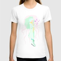 clear T-shirts featuring Clear by OctopusDisco