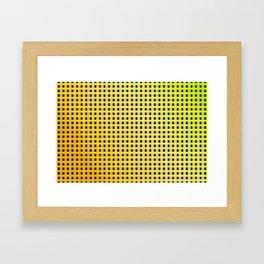 Small and little summer pattern Framed Art Print