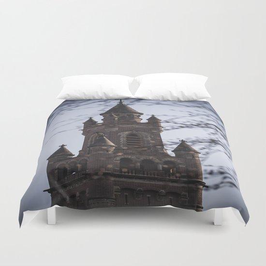 Fairy Tale Tower Duvet Cover