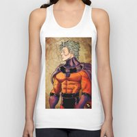 magneto Tank Tops featuring magneto by Brian Hollins art