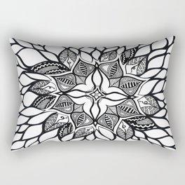 wild flowers: brainwash Rectangular Pillow