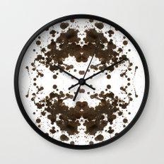Symmetria Silver Wall Clock
