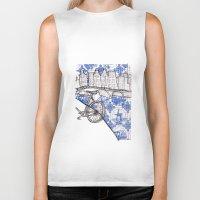 amsterdam Biker Tanks featuring Amsterdam by crocomila