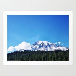 Mount Rainier, Washington Art Print