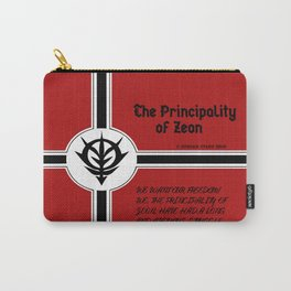 Principality of Zeon Wreath Tee Carry-All Pouch