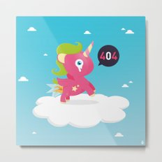 Oups...404! Metal Print