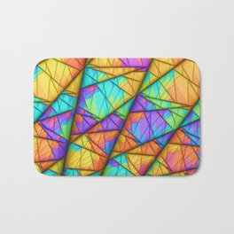 Colorful Slices Bath Mat