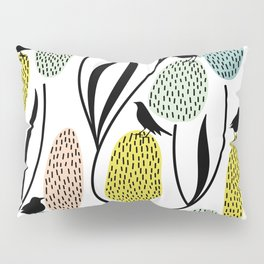 Birds and flowers Pillow Sham