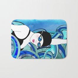 Swimmer Bath Mat