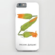 Z is for Zucchini Blossoms Slim Case iPhone 6s