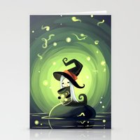 fireflies Stationery Cards featuring Fireflies by Freeminds