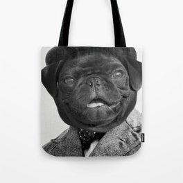 Sir Winston Pug Churchill Tote Bag