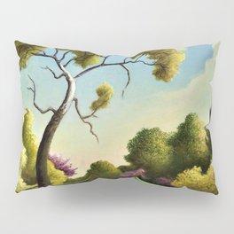 Classical Masterpiece 'Clay Country Farm' by Thomas Hart Benton Pillow Sham