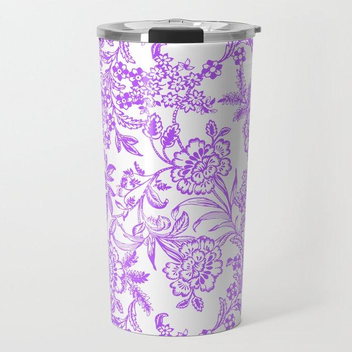 Radiant Orchid Tea Reversed Travel Mug