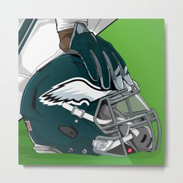 Philadelphia football Metal Print