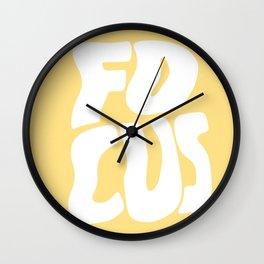 Focus Wave Wall Clock