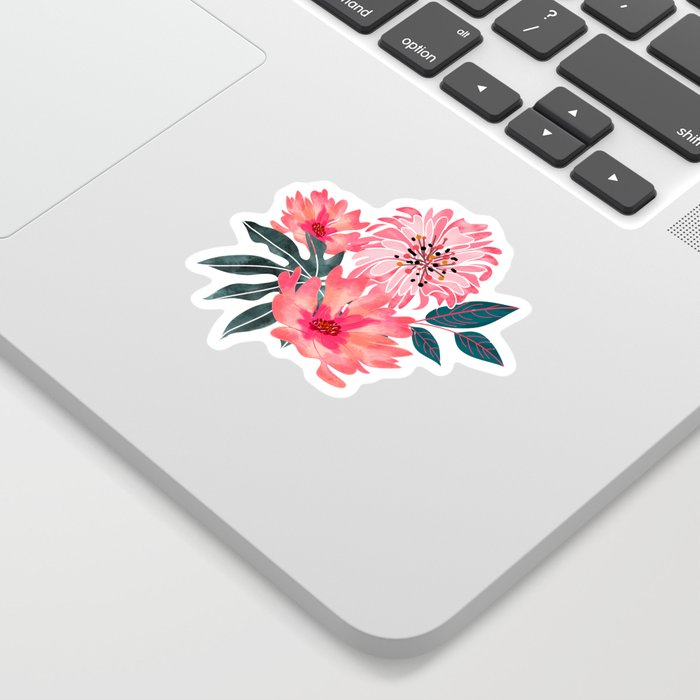 Yours Florally Sticker