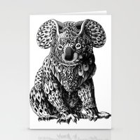 koala Stationery Cards featuring Koala by BIOWORKZ