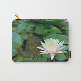 Water Lily #4 Carry-All Pouch