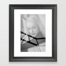 Reflecting the Drear Framed Art Print