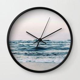Sea Water Flow Wall Clock