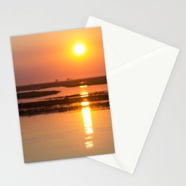 Sunset over the Okavango Delta Stationery Cards